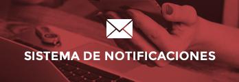 Suscríbete al sistema de notificaciones