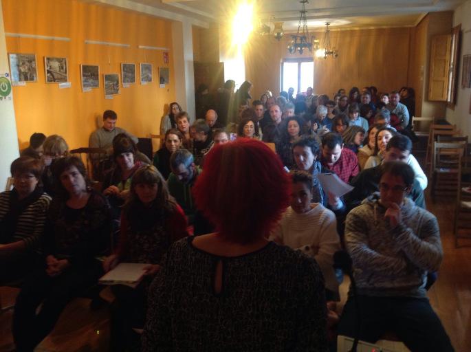 Celebrada en Burgui una jornada de reflexión sobre el relevo generacional en el Pirineo