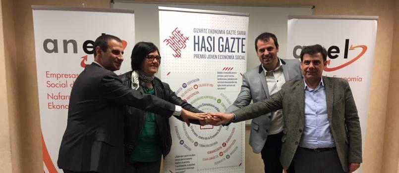 El INDJ presenta la segunda edición del Premio Hasi Gazte Joven Economía Social