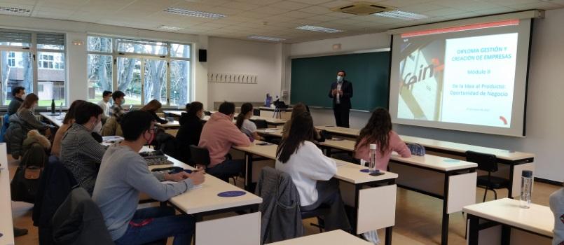 Comienza el segundo módulo del VIII Diploma en Gestión y Creación de Empresas en Ciencias