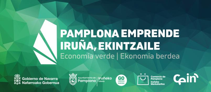 El viernes finaliza el plazo para apuntarse al programa 'Pamplona Emprende' que apoya el impulso de nuevos negocios y que este año se centra en la economía verde