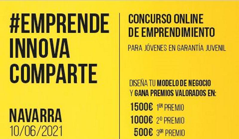 Abierto el concurso #EmprendeInnovaComparte Navarra