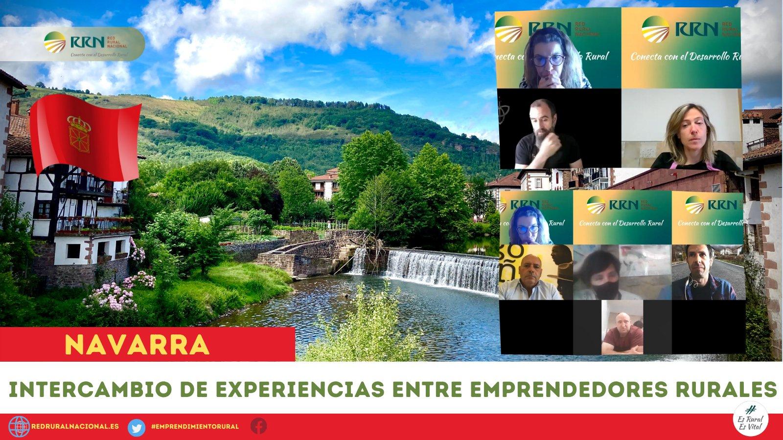 Celebrada una interesante jornada de «Intercambio de Experiencias entre emprendedores rurales» de Navarra