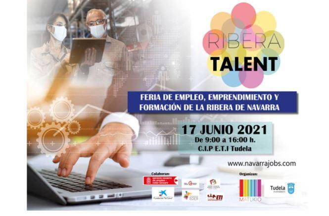 Abierta la inscripción para participar en Ribera Talent, feria de empleo, emprendimiento y formación con 5 talleres de aprendizaje