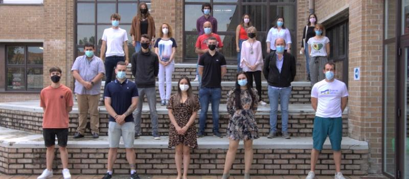 Un grupo de jóvenes idea un proyecto para revitalizar el polígono industrial de Aoiz, dentro del programa de activación para el empleo del SNE-NL