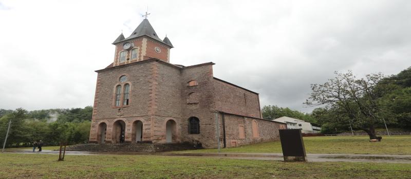 La iglesia del Campus Empresarial de Lekaroz albergará un centro para el emprendimiento digital